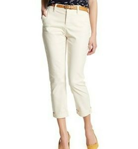 NYDJ Riley Relaxed Chino Pants Prosecco Sz 2